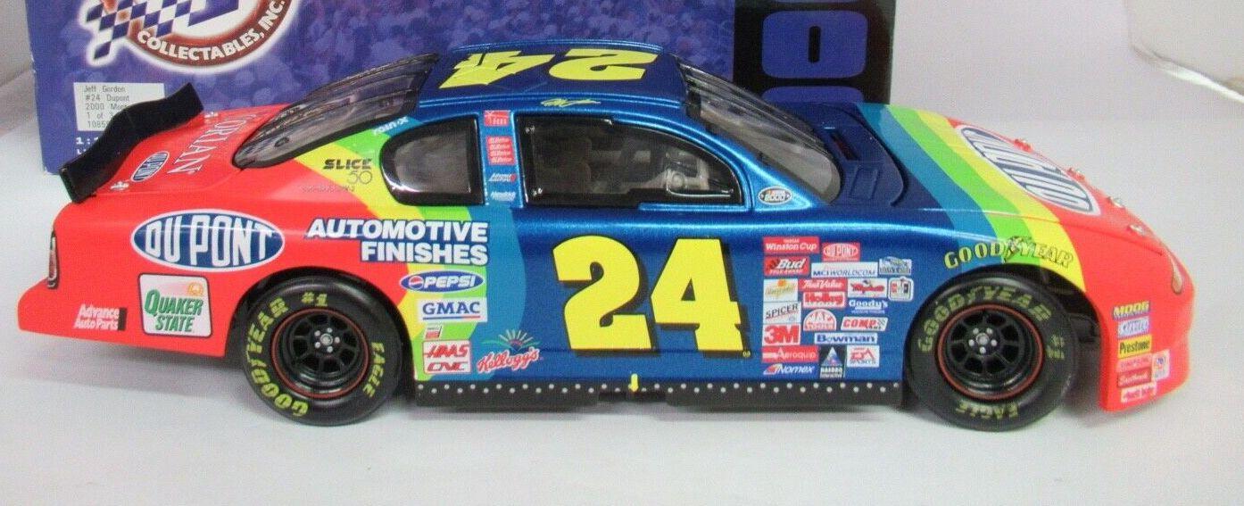 Action # 10859 1/18 Jeff Gordon  2000 Monte Carlo