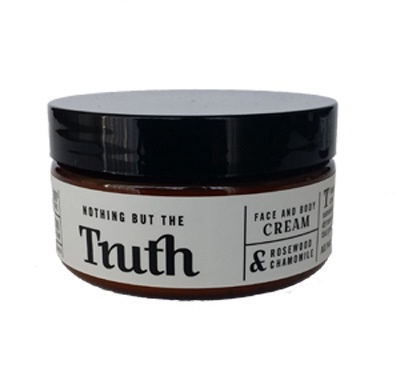 240gm Rosewood and Chamomile Face and Body Cream - Truth Cosmetics