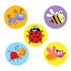 CTP 7156 BUGS MINI INCENTIVE STICKERS