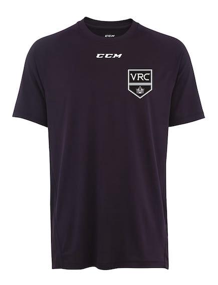 CCM Short Sleeve Tech Top-VRC Shield Logo