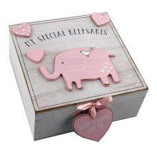 Petit Cheri' MDF My Special Keepsake Box 16cm x 16cm