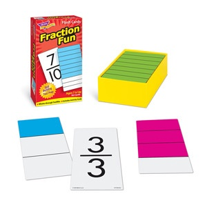 SO T 53109 FRACTION FLASH CARDS