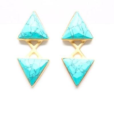 Jalisco Earrings | Turquoise