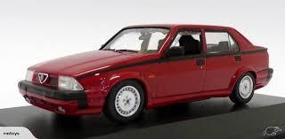 Maxichamps #940-120461 1/43 1987 Alfa Romeo 75 V6 3.0 America