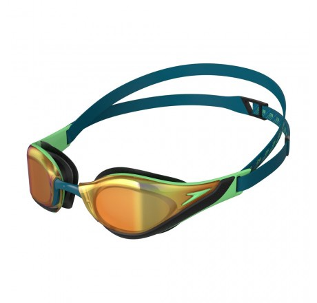 Fastskin Pure Focus Goggles Mirror Green/Gold