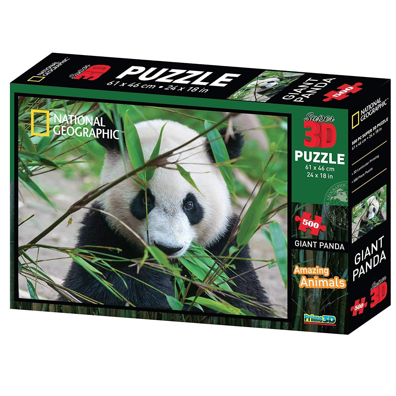 3D PUZZLE GIANT PANDA 500 PCS