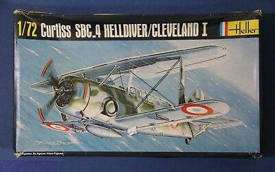 Heller #285 1/72 Curtiss SBC-4 Helldiver Cleveland 1
