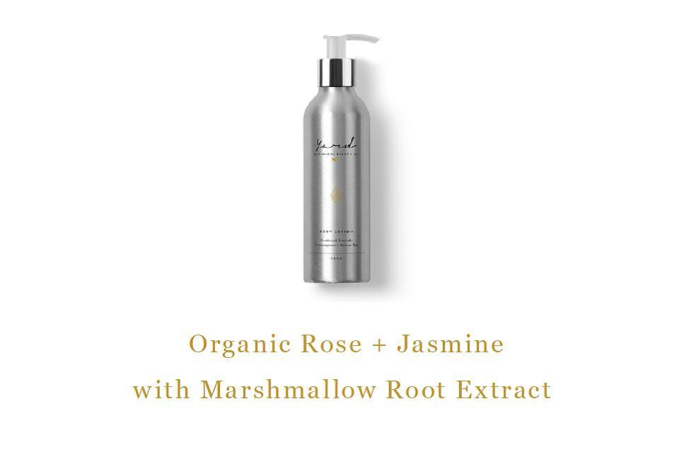 Organic Rose & Jasmin Body Lotion