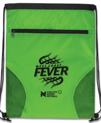 West Coast Fever Dodger Drawstring Backpack