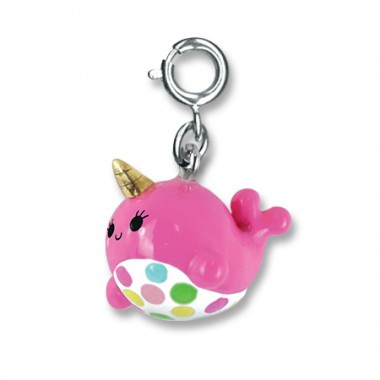 CHARM IT - PINK NARWHAL CHARM