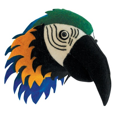 Parrot Head Wall Decoration