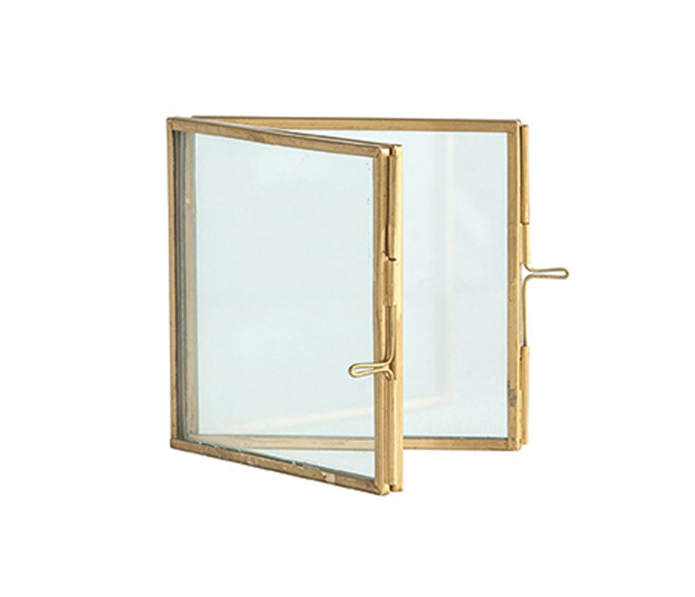 Hinged Brass Photo Frame