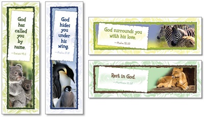 NS 2110 GOD CARES FOR HIS CHILDREN BOOKMARKS