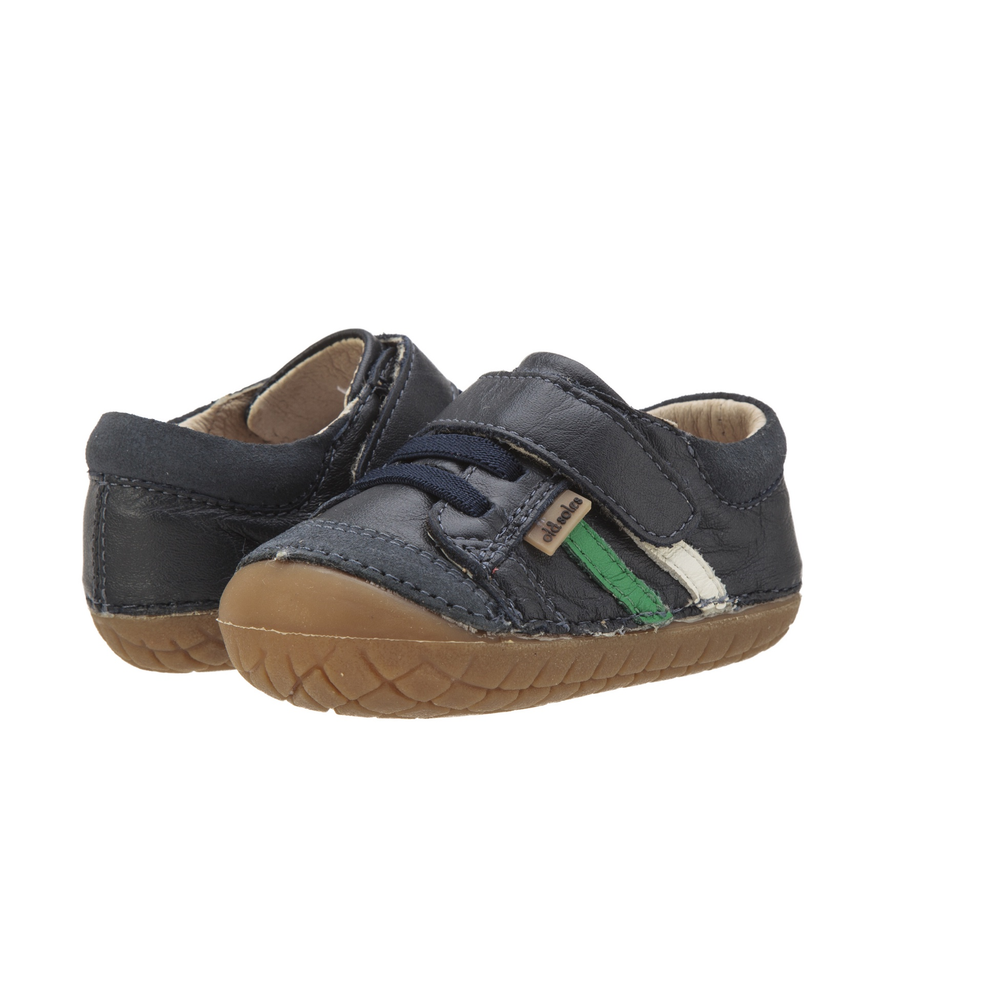 Old Soles Pave Denzle Navy Green White