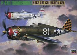 Hasegawa #51546 1/72 P-47D Thunderbolt-Nose Art Collections