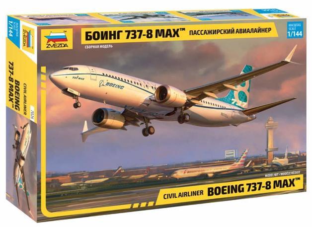 Zvezda #7026 1/144 Boeing 737-8 Max