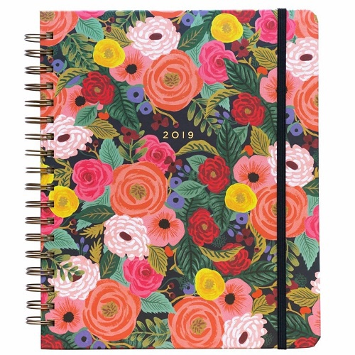 2019 Juliet Rose Spiral Bound Planner