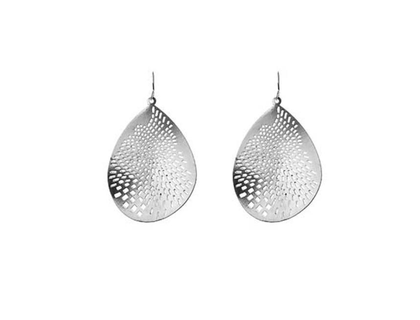 Large laser cut earrings