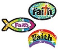 T 63702 FAITH SPARKLE STICKERS