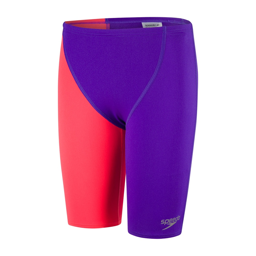 Boys Endurance+ High Waisted Jammer Royal Purple/Red