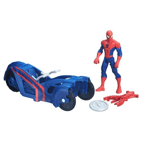 SPIDER-MAN WITH STREETSIDE RACER