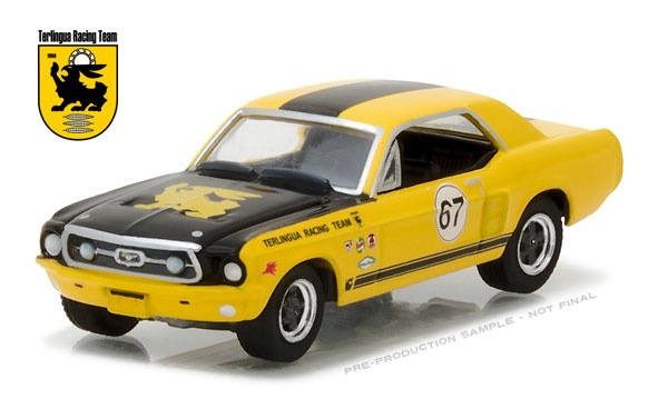 Greenlight #29876 1/64 1967 Terlingua Continuation Mustang