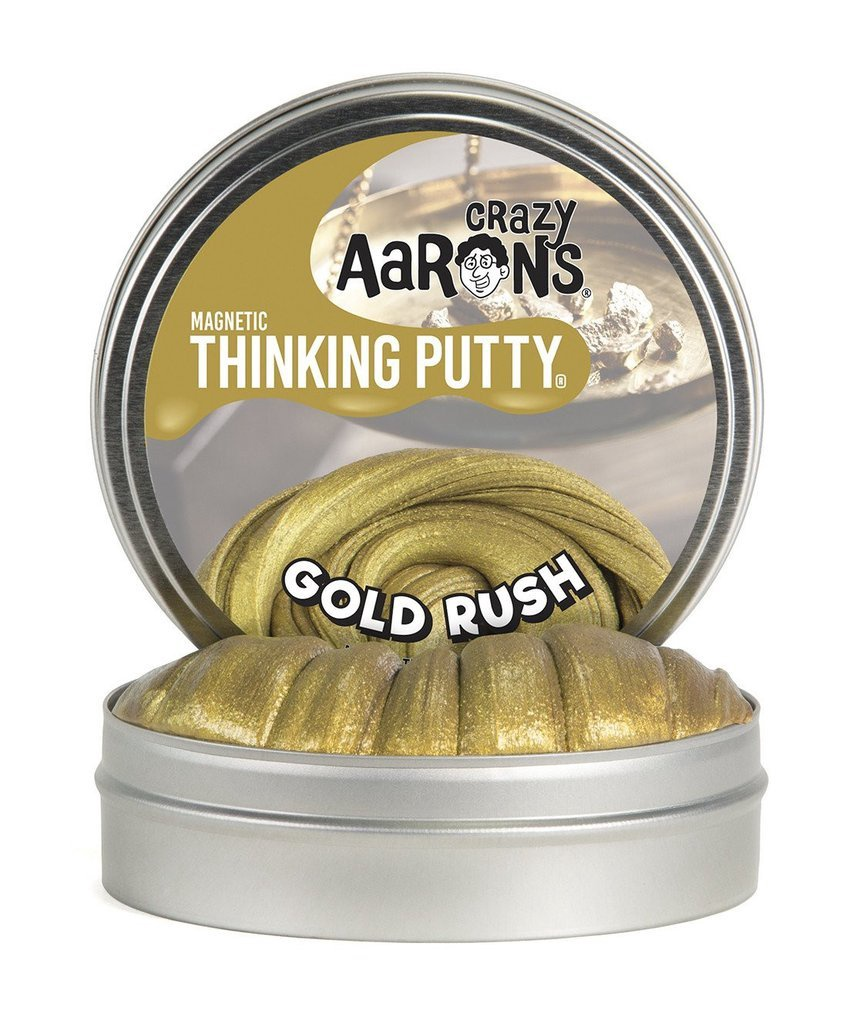 CA GR020 THINKING PUTTY MAGNETIC GOLD RUSH