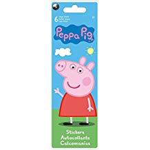 STICKERS 6 PEPPA PIG