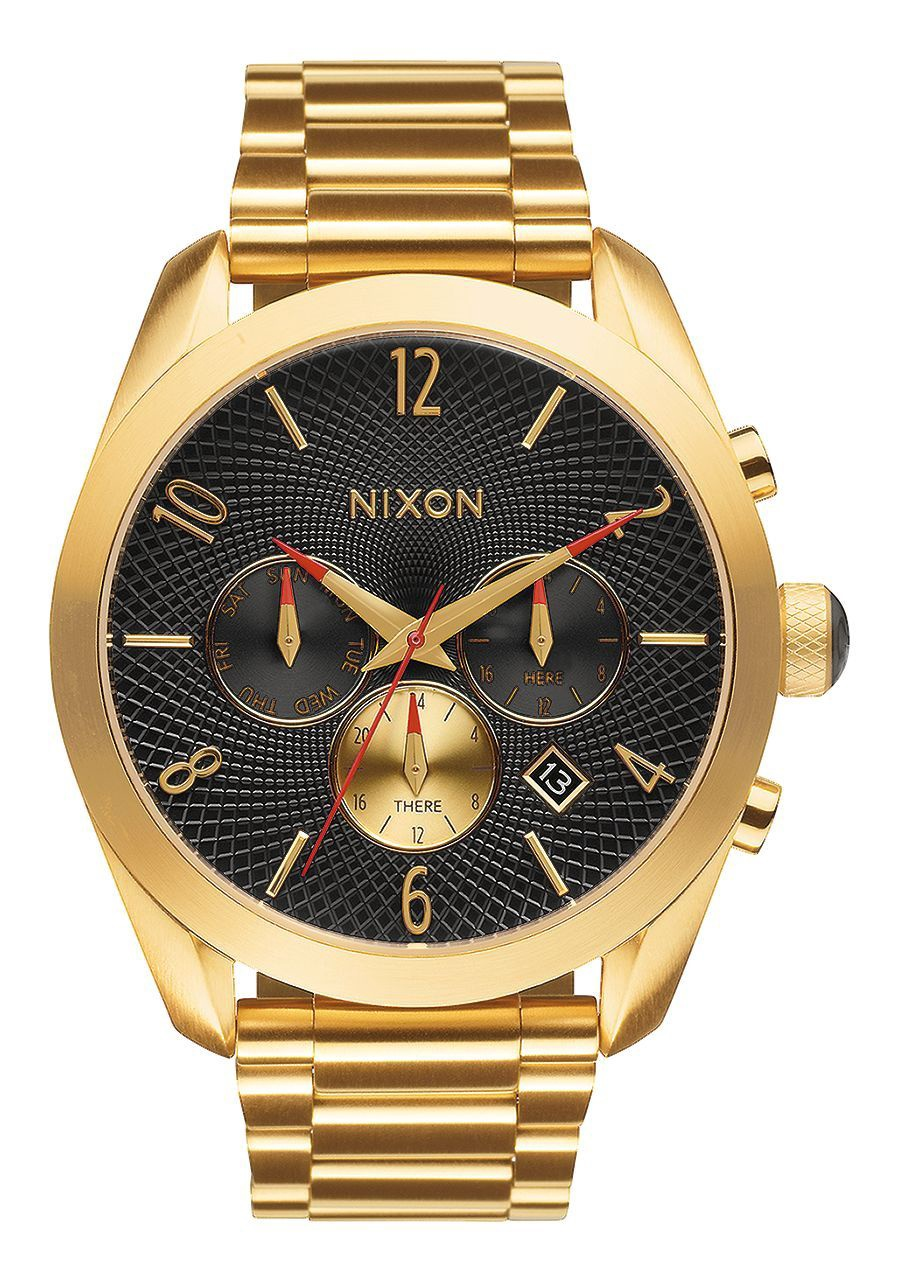 NIXON - BULLET CHRONO ALL GOLD/BLACK A366 510-00