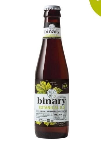 Binary Botanical Beer (0.5% ABV) 250ml
