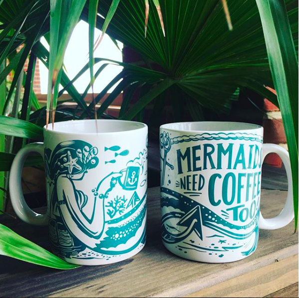 Mug - Mermaids Need Coffee