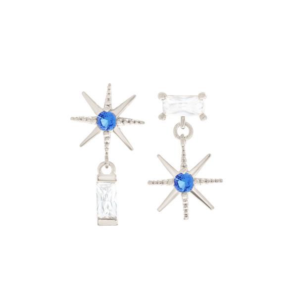 Girls Crew Del Sol Earrings Silver