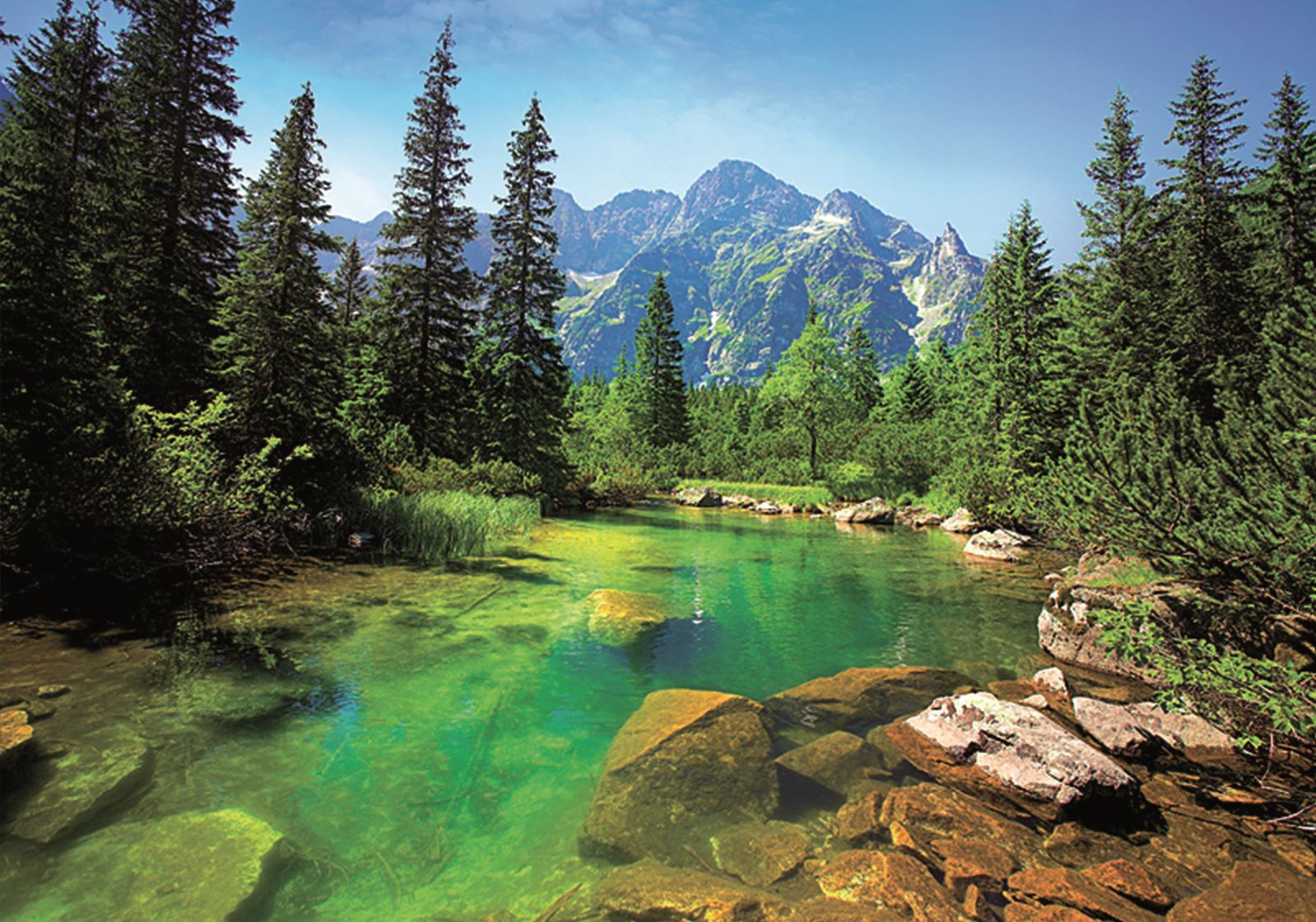 TATRA MOUNTAINS PUZZLE 500 PCS