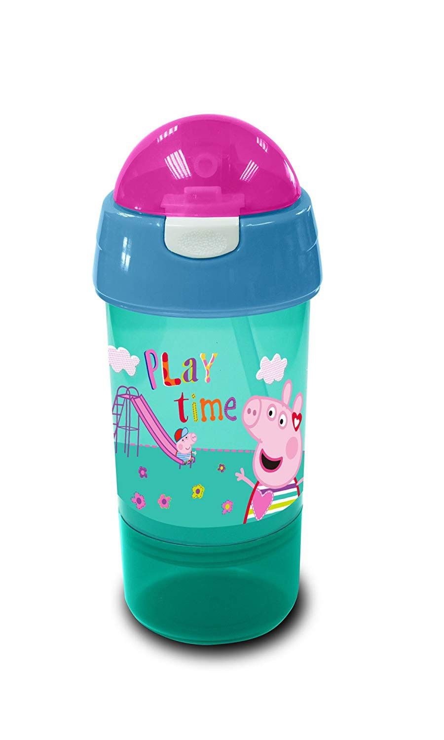 PEPPA PIG SIP N' SNACK BOTTLE