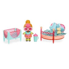 L.O.L SURPRISE FURNITURE BEDROOM WITH DOLL