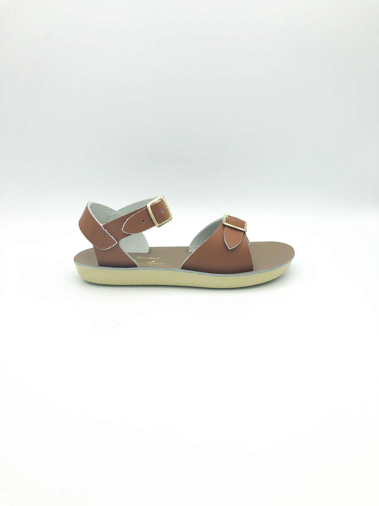 SALT WATER SANDALS - SURFER IN TAN (YOUTH 13-3)