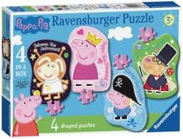 PEPPA PIG 4 SHAPED PUZZLE
