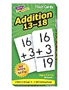 T 53102 ADDITION 13-18 FLASH CARDS