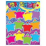 T 38400 HAPPY BIRTHDAY GUMDROP STAR CHART