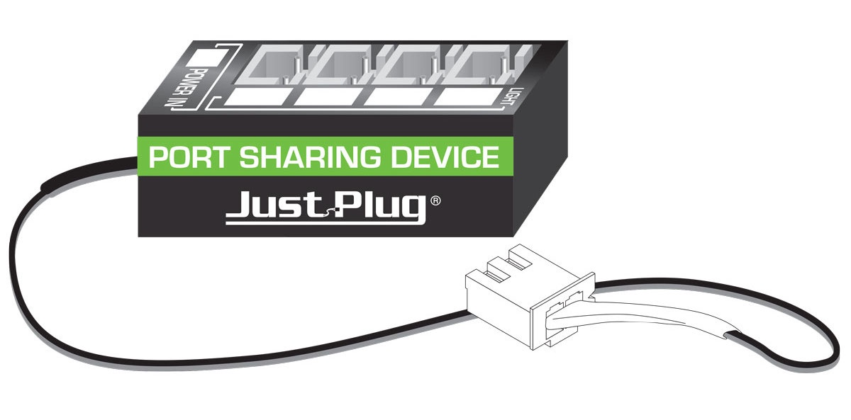 Just Plug #JP5681 Port Sharing Device