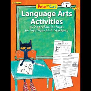 EP 63515 PETE THE CAT LANGUAGE ARTS ACTIVITIES GRADE 1