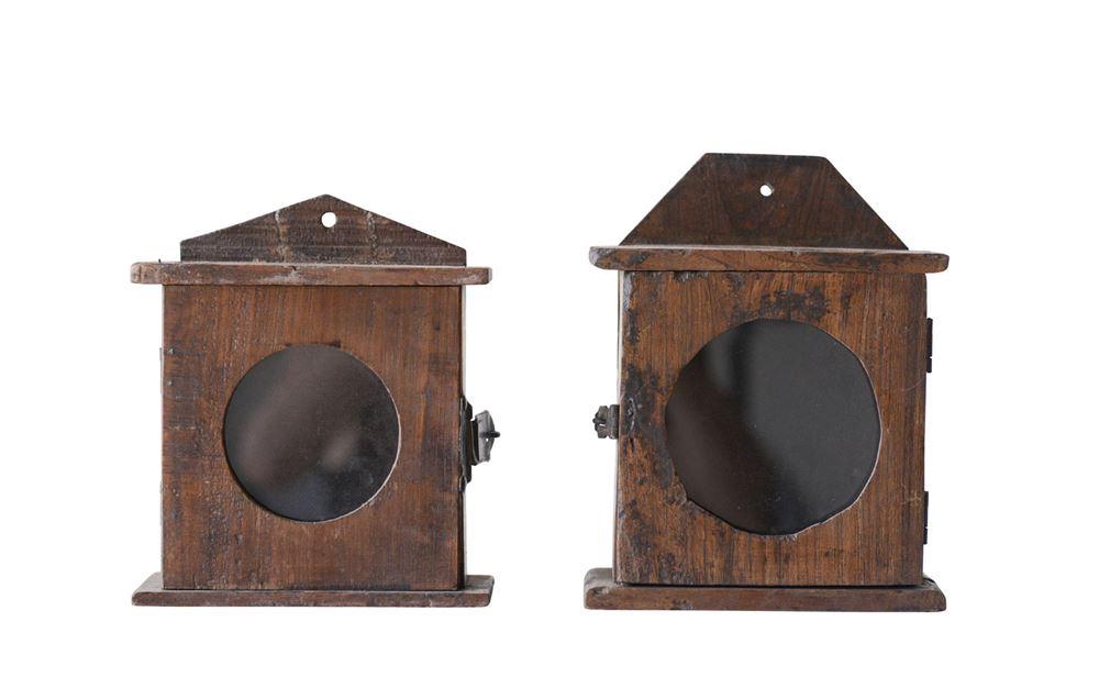 Wood Clock Box