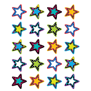 TCR 5202 FANCY STARS STICKERS