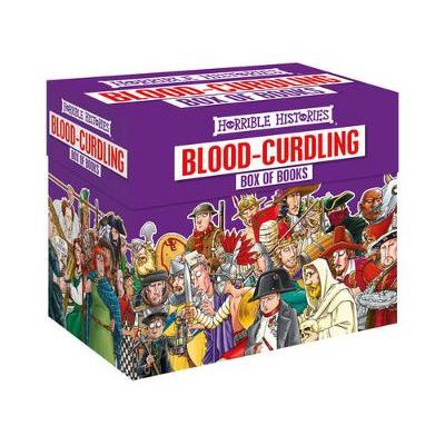 HORRIBLE HISTORIES BLOOD-CURDLING BOXSET (20 BOOKS)