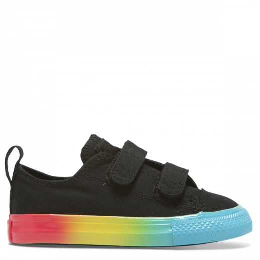Converse Inf CT Rainbow 2V Low Black
