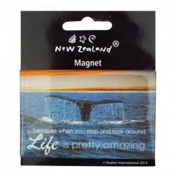 Magnet NZ Whale Tail