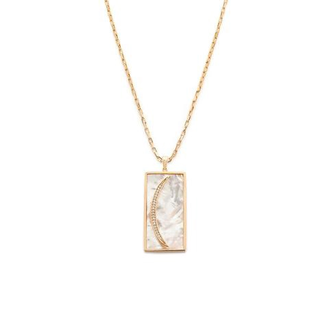 MELANIE AULD - SIREN PENDANT IN MOTHER OF PEARL