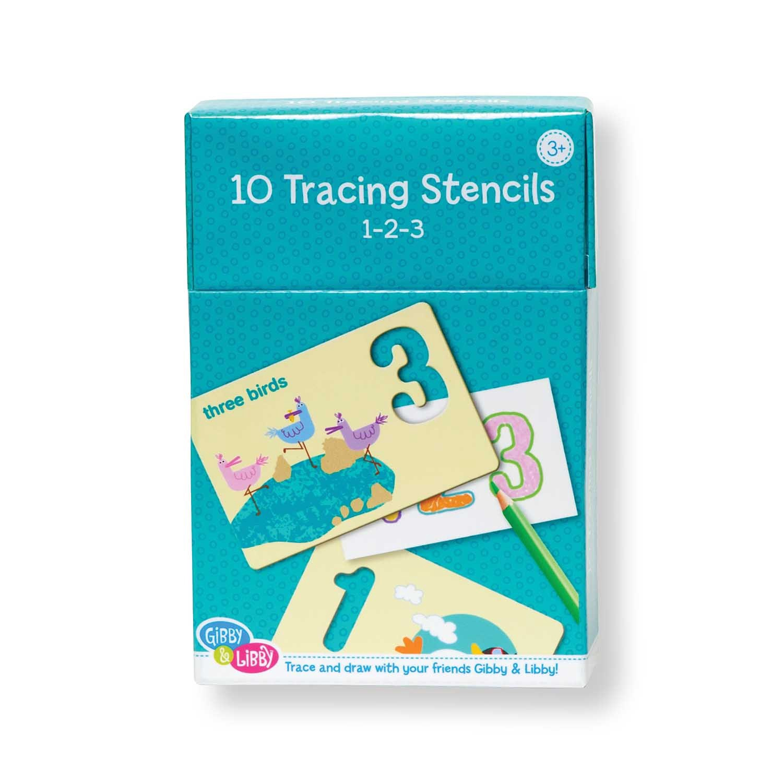 X EU BS1 17803 123 STENCIL CARDS