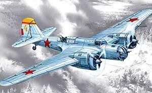 ICM #72162 1/72 SB 2M-100A Soviet Bomber