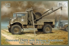 IBG Models #72032 1/72 Chevrolet C60S with Holmes Breakdown Cabs